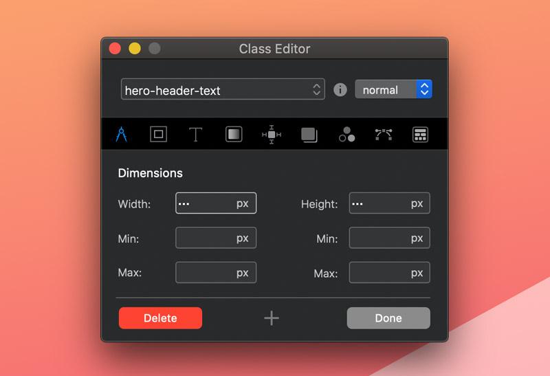 class-editor