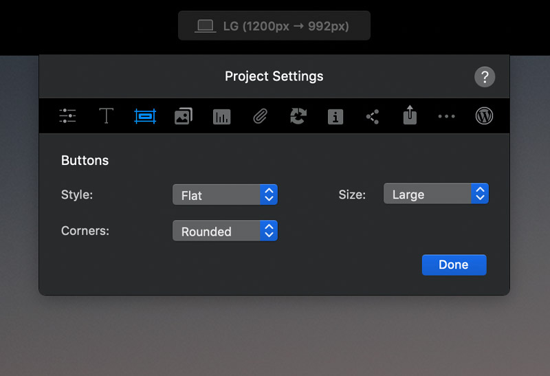project-settings-buttons